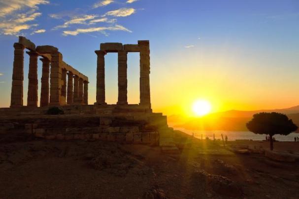 sol en Grecia solarium