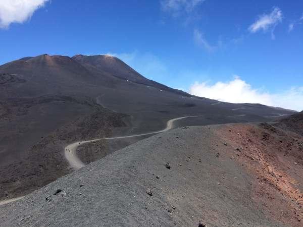 subida al Etna - cómo subir al Etna
