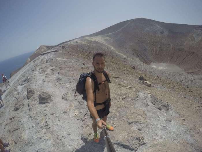 islas eolias - volcán vulcano