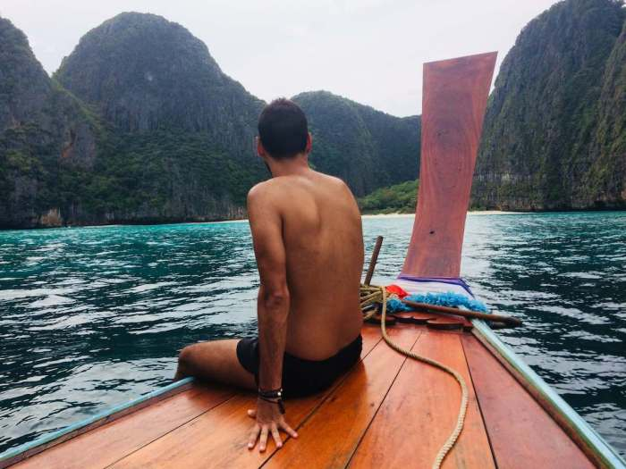 bucear en phi phi excursión de 1 día