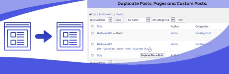 Duplicate postspages and custom posts screenshot conor bradley digital agency