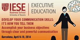 IESE Executive Education Develop Your Communication Skills