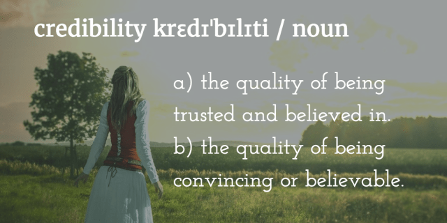 How to Build Credibility