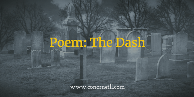 Poem: The Dash
