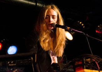 Oct. 21: New Zealander Chelsea Jade performs during the 2014 CMJ Music Marathon in New York City. Photo by Conor Clancy.