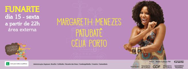 Funarte - Margareth Menezes