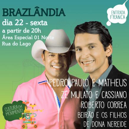Brazlândia - Pedro Paulo e Matheus