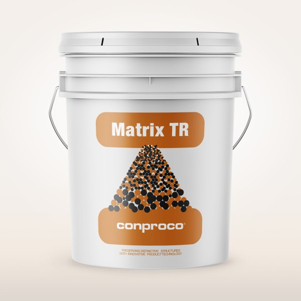 Matrix TR for thin coat masonry surface repair