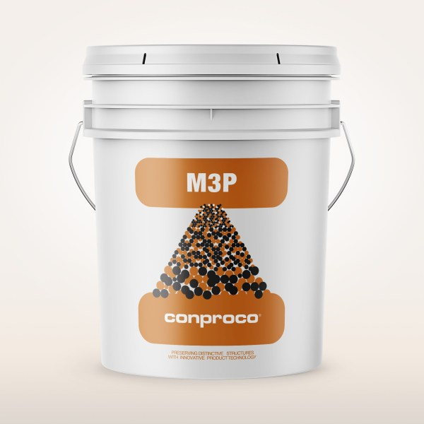 M3P 5 gallon pail provides a natural finish for concrete