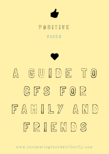 Family and Friends E-Book CFS