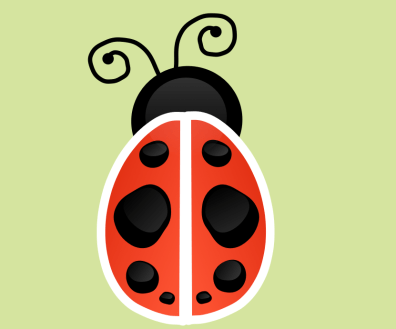 I designed this for my wife's Etsy shop, My Luv A Bug.