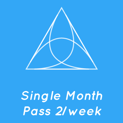 Single Month Pass 2/week