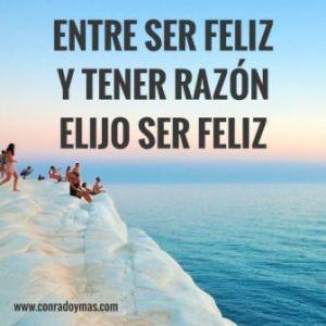 Elegir ser feliz