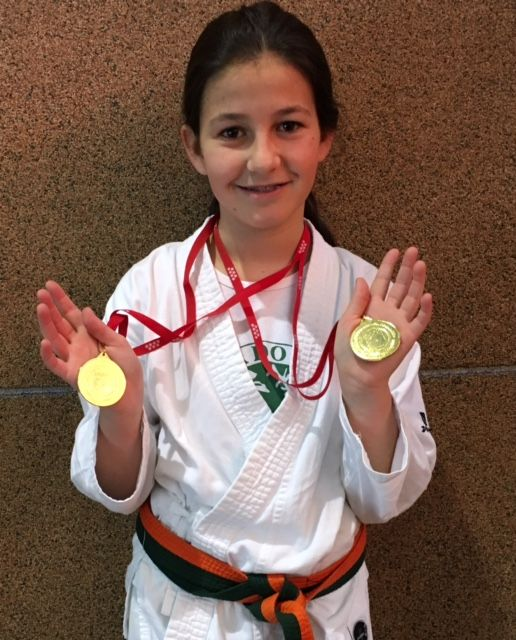 Campeonato De Katas De Karate Infantil En Madrid