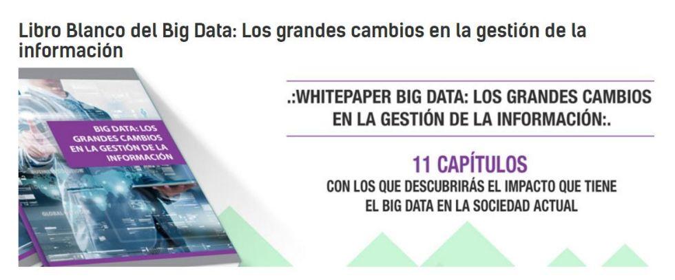 Ebook Bigdata – Los Cambios En La Información