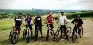 Great ride with the 'fresh meat' (new Devo team guys)