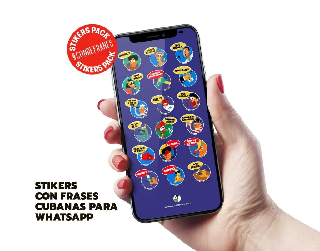 stickers cubanos con frases para whatsapp