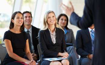 public speaking seminars can help people improve their presentations