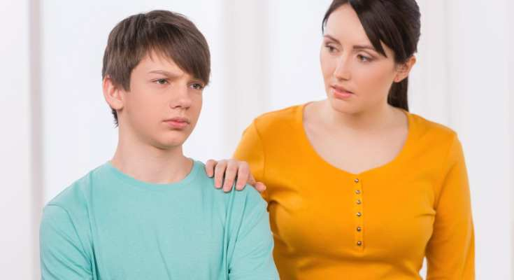 Mother concerned with son's stuttering problem