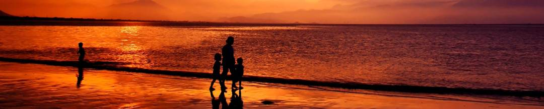 aviso-legal amanecer en la playa de Oliva