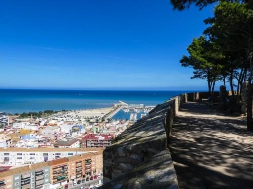 Residencial Sureste, Vistas desde el Castillo de Denia