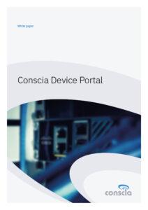 Conscia Device Portal white paper
