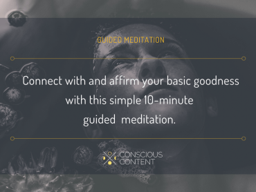 Simple guided Sahaja meditation with affirmations