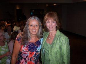Ingrid with Nora Roberts