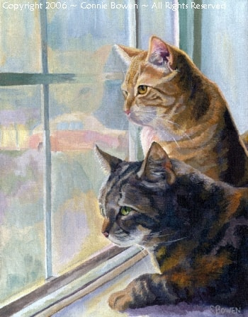 Famous Fine Art Paintings Of Views From A Window