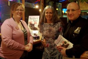 Buckley's Story book signing at Stray Cat Cafe