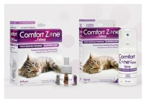 Comfort Zone with Feliway diffuser and spray