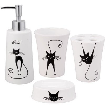 Perfect cat bathroom accessories