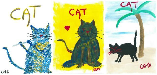 Cathi-Marro-cat-paintings
