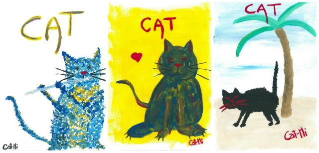 Cathi-Marro-cat-paintings