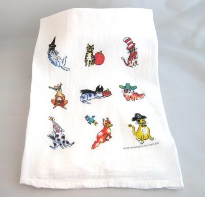 halloween-cat-kitchen-towel