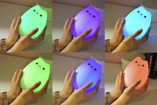 silicone-cat-nightlight-colors