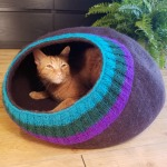 felted-cat-bed