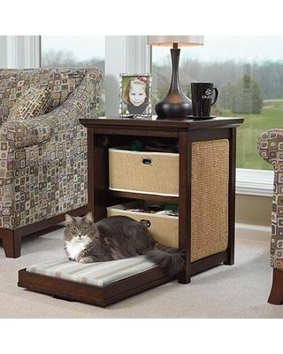 sauder-side-table-cat-bed
