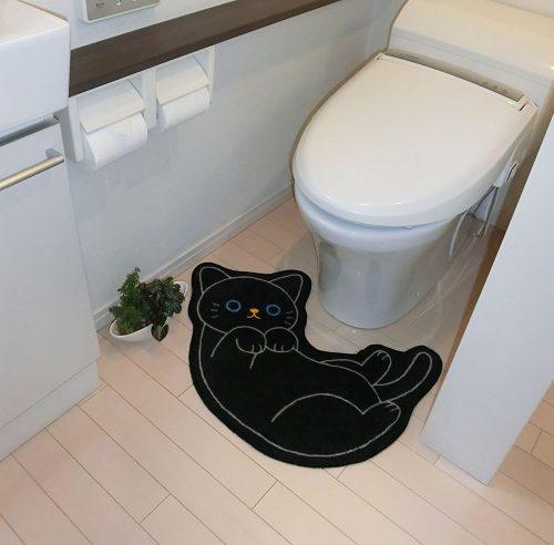 black-cat-bathroom-rug