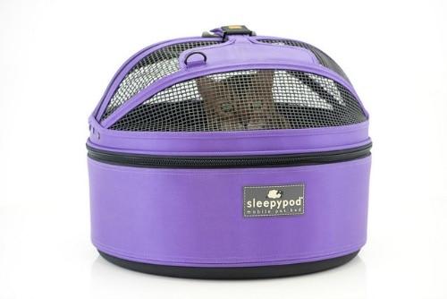 Sleepypod-Mobile-Pet-Bed-True-Violet