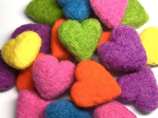 felted-wool-catnip-hearts