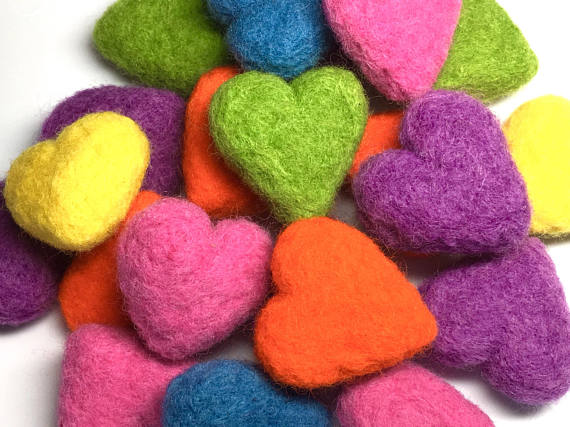felted-wool-catnip-hearts