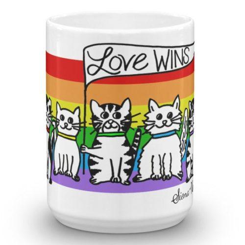 cats-LOVE-WINS-mug-Front-15oz