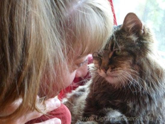 woman-cat-love
