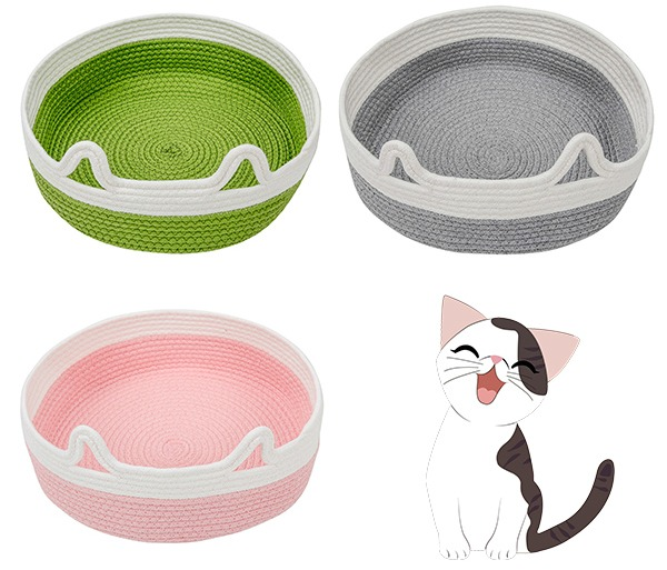 Cat-Ear-Cotton-Rope-Beds