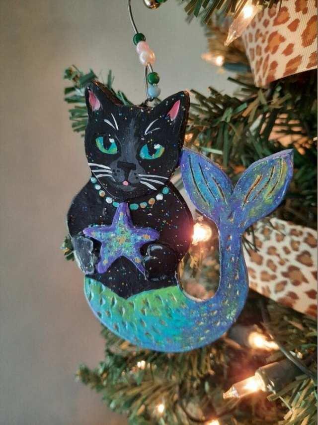 purrmaid-black-cat-ornament