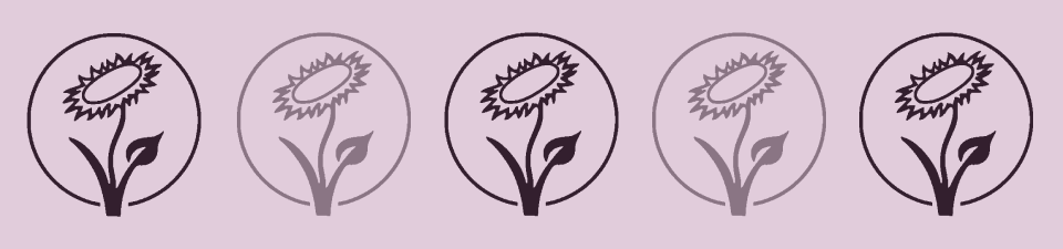 Logo for vegan friendly products