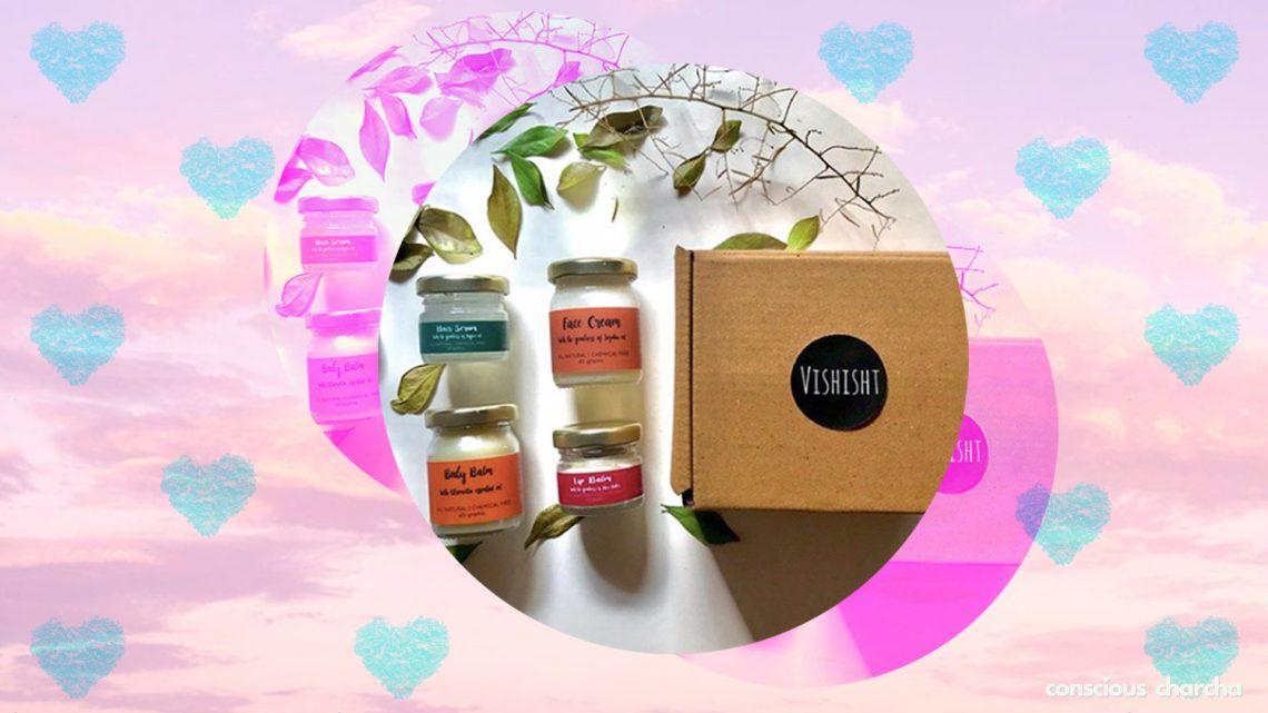 Sustainable skincare products hamper by Vishisht brand
