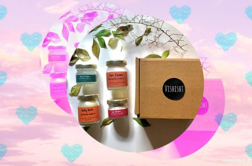 Sustainable skincare products hamper by Vishisht brand