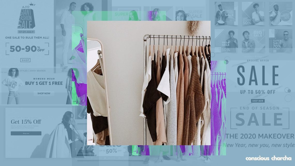 breaking away from impulse shopping & curating a capsule wardrobe